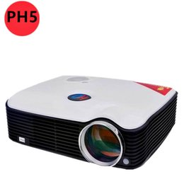 Home Theater Av NZ - Wholesale-Free gift HDMI CABLE 2500Lumen Home theater video hd projector portable 3d projector With HDMI USB TV AV interfaces