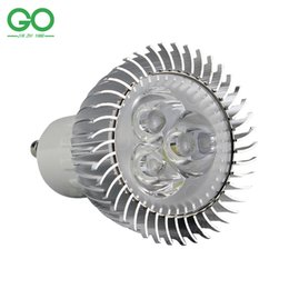 red spotlight bulbs Australia - GU10 3W LED Spotlight E27 Bulb 45mil 130-140lm w 110v 120v 220v 230v 240v Equal 30W Halogen Lamp GU 10 LED Downlight
