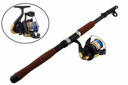 $enCountryForm.capitalKeyWord UK - 2.1m Portable Lightweight Telescope Fishing Rod and High Speed Spinning Reel Combos Set Fishing Rod&Reel set