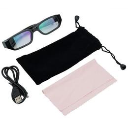 e46785c8b2 HD 720P Glasses Camera DVR Video Recorder Eyewear cámara Sunglass cámara envío  gratis