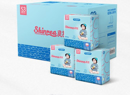 diaper sales NZ - Lowest Price 2019 Factory sale Baby Training Diapers Economy Pack Three-demensional leakproof locks in urine Ultra-Thin and soft W17JS406