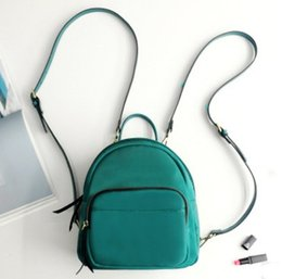 evening bags designer handbag 2019 - New lady fashion designer backpacks Female casual evening handbags women casual double shoulder bags black red green col