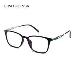 $enCountryForm.capitalKeyWord Canada - Wholesale- 2017 ENGEYA TR90 Optical Eyewear Frames Women Myopia Computer Clear Lens Fashion Prescription Glasses Frame 6 Colors #F002