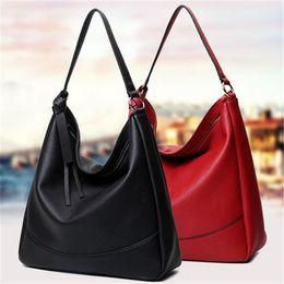 b32fa55f6e2 Korean style Hobo Bag Messenger Ladies bags leather shoulder bags for women  designer handbags Custom LOGO drop shipping