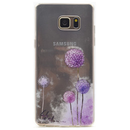 Fashion girls mobile phone covers online shopping - Transparent TPU Cover For Samsung Galaxy Note Case Fashion Tower bike Butterfly Girl Feather Design Mobile Phone Cases