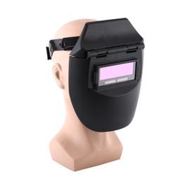 Weld mask darkening online shopping - Auto Darkening Welding Helmet Tig Mig Welder Mask Lenses Solar Powered Cap For Soldering welder cap