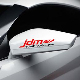 japan stickers car 2019 - JDM Kanji Rising Sun Car Sticker Vinyl Decal Drift Japan Flag cheap japan stickers car