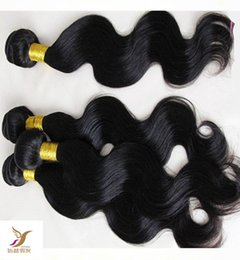 Wholesale sexy women machine resale online - Sexy A Woman Brazilian Body Wave Hair Extension Virgin Brazilian Human Remy Hair Weave a Unprocessed Double Weft Hair
