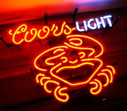 Neon coors light bar signs canada best selling neon coors light new high life neon beer sign bar sign real glass neon light beer sign me 084b coors light crab 177x134 001 aloadofball Images