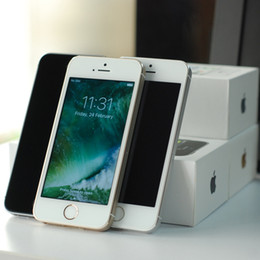 Discount refurbished iphone - Original Refurbished Apple iphone 5S Touch ID 4G LTE SmartPhone 4.0Inch IOS 8.0 64GB Dual Core Unlocked Cell Phones
