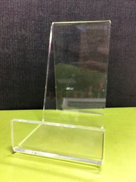 $enCountryForm.capitalKeyWord NZ - Clear Acrylic plate display packed dish stand lucite consumer electronic accessories display