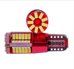 car front smd NZ - 4pcs T10 57 smd led CANBUS NO Error Car light Auto Lights bulb parking lamps 12V