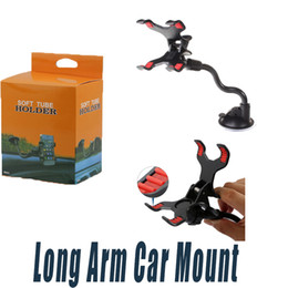 Wholesale 360 Rotating Car Mount Long Arm Car Phone Suction Cup Holder Universal Windshield Dashboard Cell Phone Rotation Holder