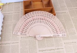 $enCountryForm.capitalKeyWord NZ - Bridal Wedding Fans Chinese Wooden Fan Bridal Accessories Handmade Fancy Cheap Wedding Favors Gifts for Guests Ladies Hand Fans