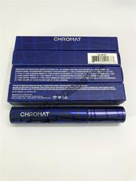 Disparo real Maquillaje Mascara Chromat Volume Black Mascara impermeable Envío DHL de alta calidad