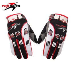 glove pro biker 2019 - Wholesale- PRO-BIKER Breathable Motocross Gloves Non Slip Guantes Luva Moto Racing Gloves Motorcycle Motocross Wear Glov