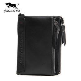 $enCountryForm.capitalKeyWord NZ - Wholesale- CROSS OX 2017 Spring New Arrival Men's Wallet Genuine Cowhide Leather Wallets For Men Card Holder Business Fashion WL106M