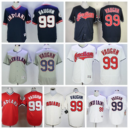 ... 99 Ricky Vaughn Cleveland Indians Jersey Baseball White Gray Blue  Pullover Mens Flexbase Stitched Throwback Baseball Hot Sale Cheap ... d0bc2e981