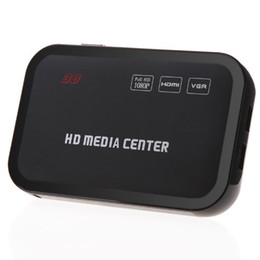 online shopping HD P Media Player Center RM RMVB AVI MPEG Multi Media Video Player with HDMI YPbPr VGA AV USB SD MMC Port Remote Control