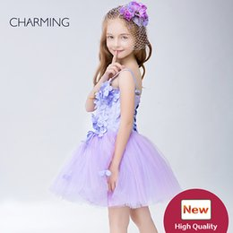 $enCountryForm.capitalKeyWord NZ - Ball gowns for little girls High quality handmade flowers Designer kids dresses Dresses for flower girls pageant dresses Chinese wholesalers