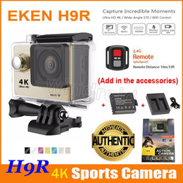 $enCountryForm.capitalKeyWord Canada - EKEN H9 H9R Ultra HD 4K Action Camera 170 degrees Sports Camera WIFI HDMI 1080p Waterproof + Remote control + Extra Battery + Dock Charger