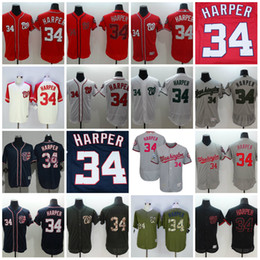 super popular fd6d7 12655 washington nationals 34 bryce harper black fashion flexbase ...