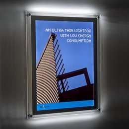 $enCountryForm.capitalKeyWord UK - A2 Hot Selling Ultra Slim Crystal Panel Light Box with Acrylic Panel LED 2835 Side-Lit Strong Wooden Case Packing