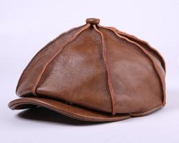 0d3fadf696c18 2017 nueva moda de otoño e invierno para hombre octogonal gorra vendedor de  periódicos sombreros cabbie