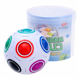 $enCountryForm.capitalKeyWord NZ - Rainbow Ball Magic Cube Speed Football Fun Creative Spherical Puzzles Kids Educational Learning Toys games for Children Adult Gifts 150pcs