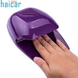 Discount toe nail polish art - Wholesale- Best Deal Haicar Fashion Portable Hand Finger Toe Nail Art Polish Paints Dryer Blower Mini Beauty Tools Gift