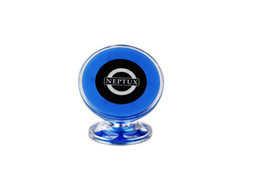 Small Magnets Wholesale UK - Universal Small Ears Magnet Suction Bracket Vertical Type Mount Stand Dock Car Magnetic Phone Holder Support GPS Mount