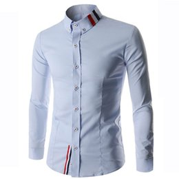Discount Mens Fitted Casual Button Down Shirts | 2017 Mens Fitted ...