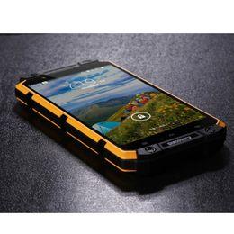 Discount phone tri sim - V8 Smartphone MTK6582 QuadCore 4.0Inch Cellphone WaterProof Shockproof Rugged phone 1GBRAM 8GBROM 2800mAh Shockproof Mob