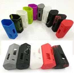 $enCountryForm.capitalKeyWord NZ - Top Rated Lost Vape TRIADE DNA 250 TC 250W Box Mod silicon case protective skin sleeve bag wrap 10 colors DHL free