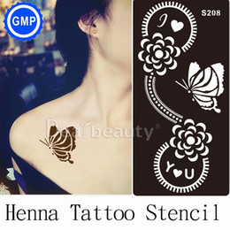 Discount Henna Butterfly Tattoos Henna Butterfly Tattoos 2019 On