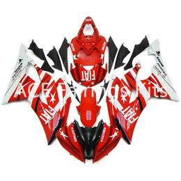yamaha r6 plastics abs Canada - 3 gift New Fairings For Yamaha YZF-R6 YZF600 R6 08 15 R6 2008-2015 ABS Plastic Bodywork Motorcycle Fairing Kit Red style vv6