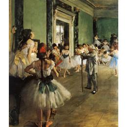 $enCountryForm.capitalKeyWord UK - Gift oil paintings by Edgar Degas The Ballet Class Hand painted modern art wall decor High quality