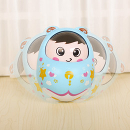 $enCountryForm.capitalKeyWord NZ - Infant early rattle bell cartoon fun color tumbler nod doll toy wholesale bell