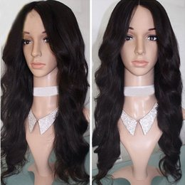 Indian Body Wave Lace Front Wig Canada - Indian Virgin Hair Body Wave Full Lace Wigs With Baby Hair 8A Grade Unprocessed Glueless Lace Front Human Hair Wigs For Black Women