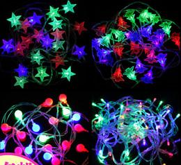 $enCountryForm.capitalKeyWord NZ - LED Plastic lights flashing light snow globe lamp string Christmas star Snowflake Christmas lights romantic outdoor Decorations