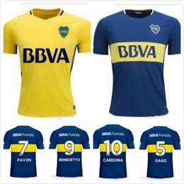 dybala lavezzi thai quality 2017 2018 argentina boca club juniors soccer jerseys 17 18 gago osvaldo carlitos perez