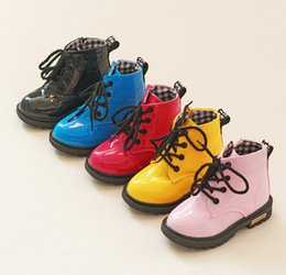 $enCountryForm.capitalKeyWord Canada - Children's shoes autumn winter 2017 children Korean version of Martin boots leather waterproof boots for men and women boots