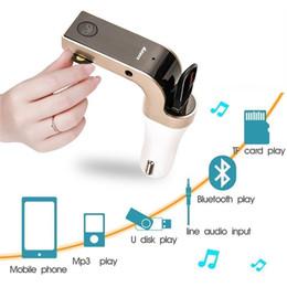 $enCountryForm.capitalKeyWord Canada - Hot Sales 4-in-1 CAR G7 Bluetooth FM Transmitter With USB Flash Drives  TF MP3 Music Player Bluetooth Car kit USB Car charger In Retail Box
