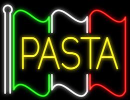 "$enCountryForm.capitalKeyWord NZ - Pasta Flag Neon Sign Custom Handmade Real Glass Tube Custom Restaurant Italian Food Stand Pasta Catering Service Display Neon Signs 24""X20"""