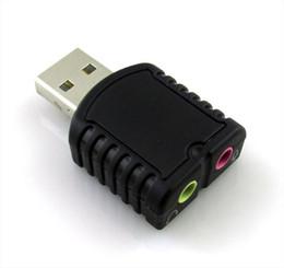 USB ses kartı harici ses kartı USB2.0 Stereo Ses Adaptörü ses arabirimi tarjeta de sonido soundcard için masaüstü / dizüstü
