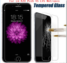 screen protectors l9 UK - For LG K20 PLUS V5 LV5 For LG ls777 Stylo 3 PLUS stylus 3 Galaxy On5 G550 J7 Tempered Glass Screen Protector Film