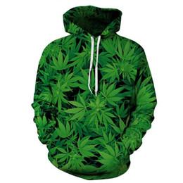 Wholesale leaf sweatshirt for sale – custom new arrival Creative D Print Leaves Men Sweatshirt Fashion Wear Moletom Character Pullover Plus Size XL