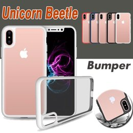 8 Case Canada - Unicorn Beetle Hybrid Camera Lens Soft TPU Gel UltraTransparent Case Cover For iPhone XS Max XR X 7 6 6S Plus 5 5S Samsung Galaxy Note 8 S8