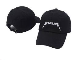 Gorras de visera deportivas Metallica Negro desestructurado Papá Sombrero  Gorra de béisbol estrella niño niña hip hop sombreros 6 panel xo hueso  gorras ... 1ba9230f86c