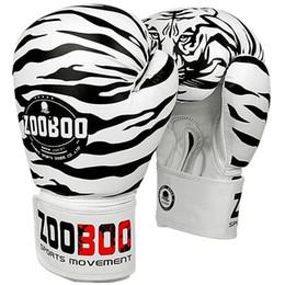 muay thai leather gloves 2019 - Professional Adult Size Leather Man Kick Boxing Gloves Women Mma Muay Thai Fight Glove Luva De Box Training Fitness Gear